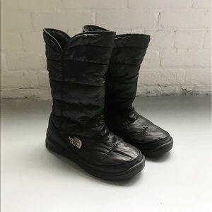 NorthFace Puffer Boots